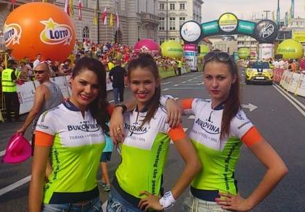 Hostessy na Tour de Pologne 2014